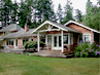 Dines Point Small House Cottage Plans by Ross Chapin