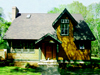 Gable Small House Cottage Plans by Ross Chapin