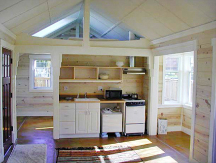 Small Cabin Plans With Loft Interiors